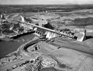Decades-After-Disappearing-Mystery-Beneath-Lake-Norman-dam