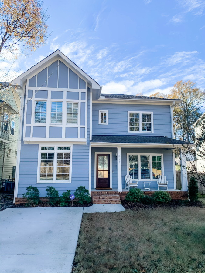 Craftsman style nestled in NODA